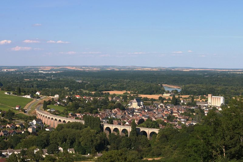 Aerial photo of Sancerre - Best Things to do in the Loire