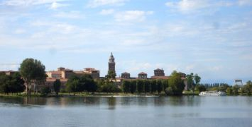 Mantua - view from the Bianco Canal