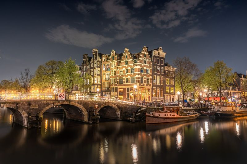 Amsterdam by Night - River Cruises in Europe