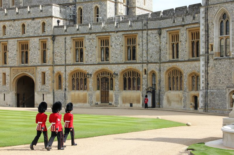 Changing of the Guard at Windsor Castle - River Cruises in Europe
