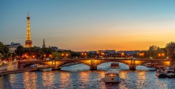 The River Seine by Night