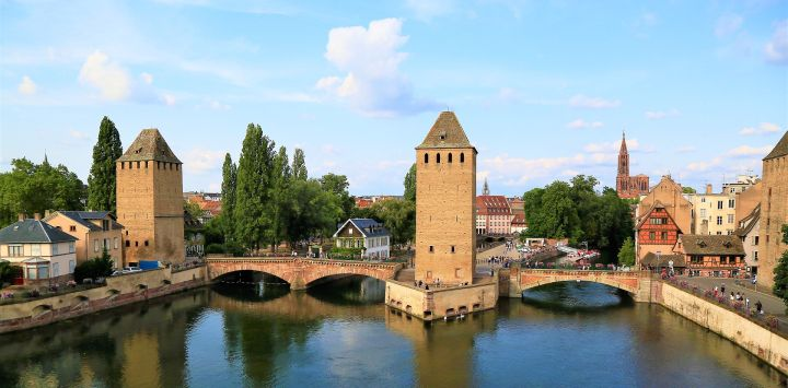Strasbourg - Barge Holiday in France