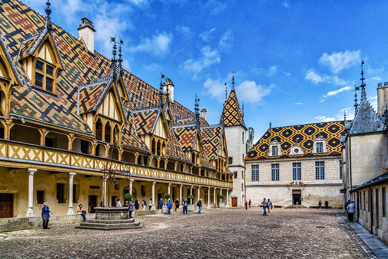 Hospices de Beaune (Musée de l'Hôtel-Dieu) Burgundy, France