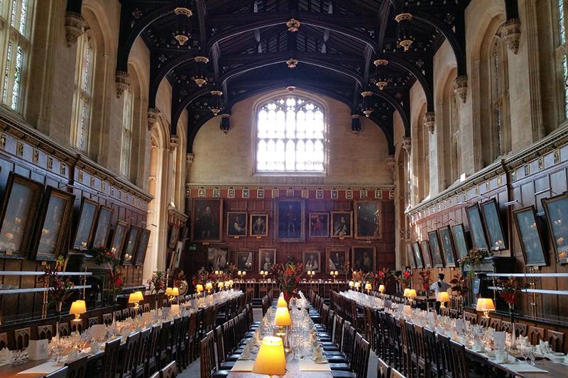 Visit Oxford Christ Church's Great Hall with European Waterways