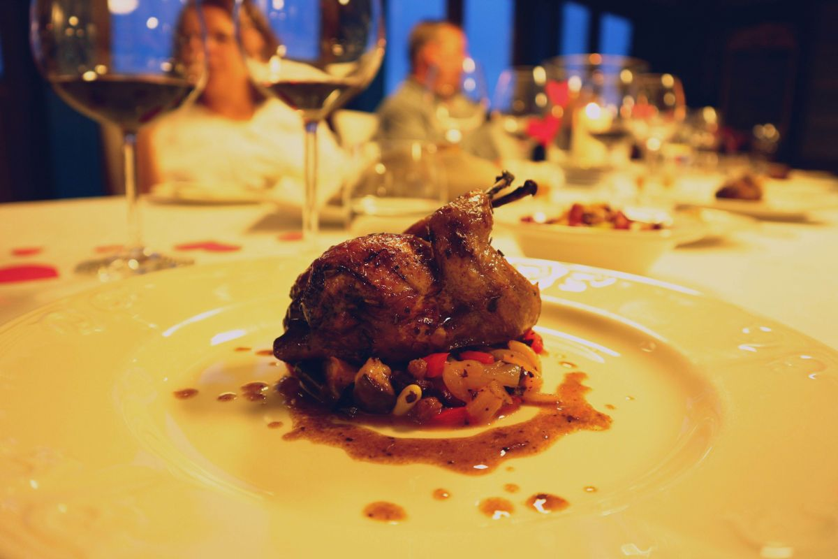 Enjoy four-course fine dining aboard luxury hotel barge, La Bella Vita
