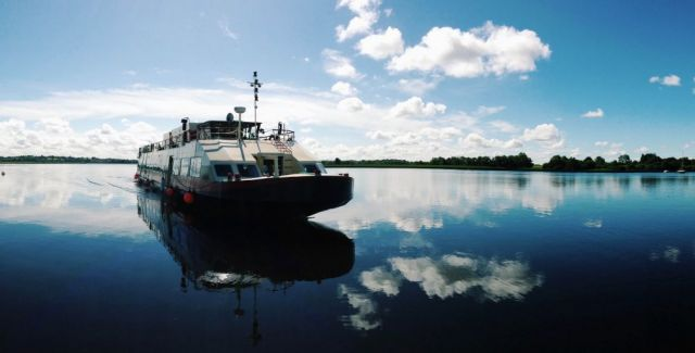Cruise aboard the Shannon Princess with European Waterways