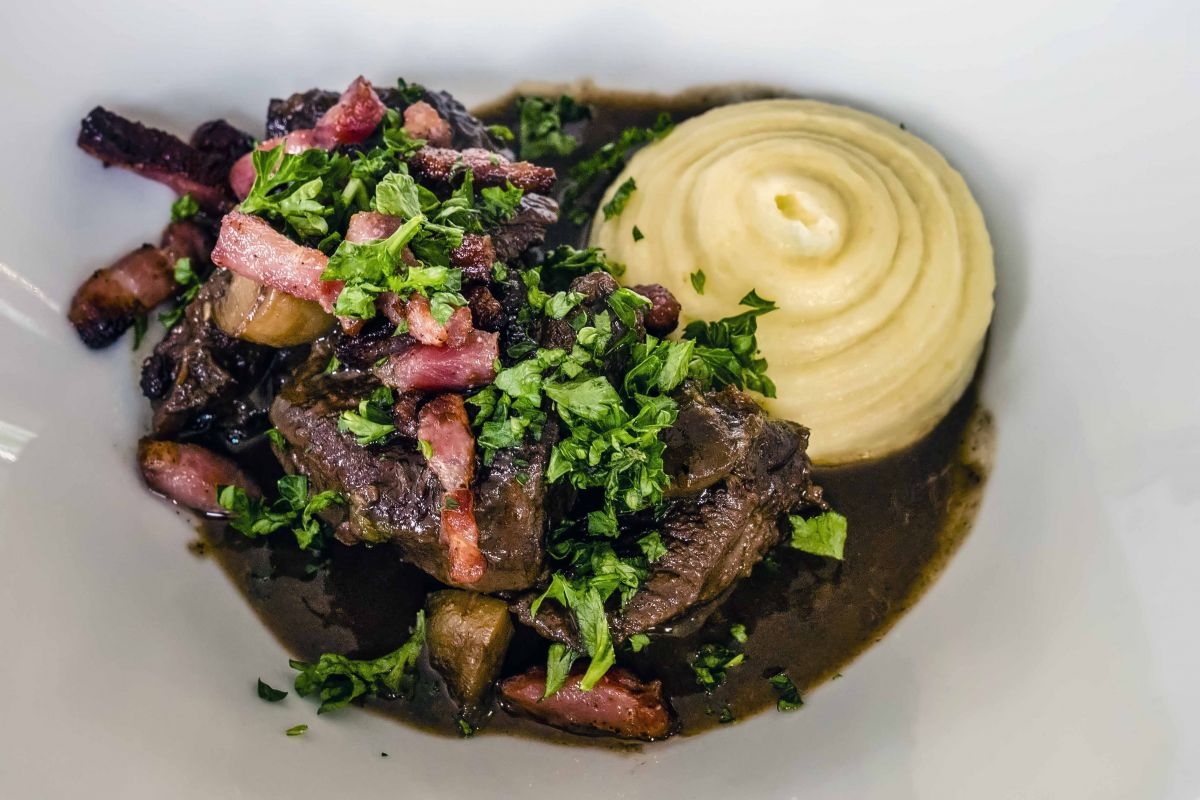 Beef Bourgignon is possibly one of the region's most famed dishes. Rich in flavour and simply melts in the mouth.