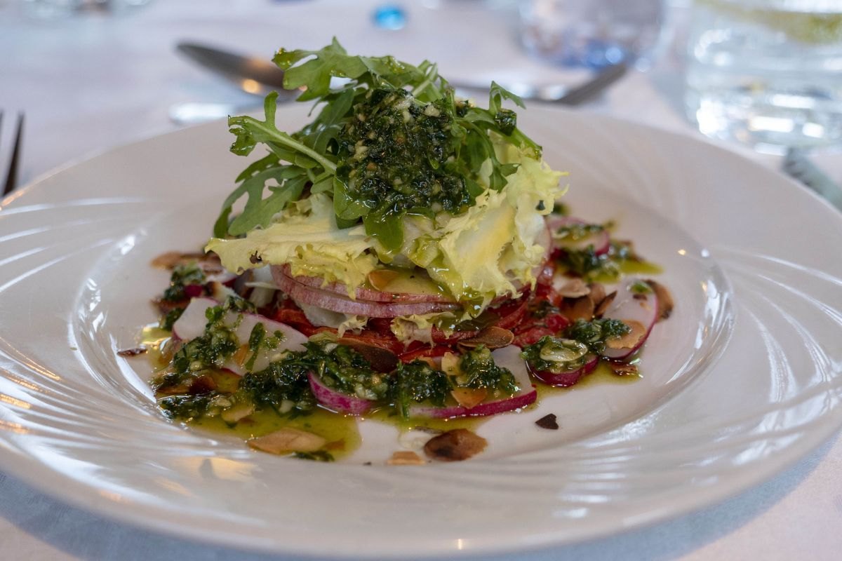 Delicious French cuisine served on our popular French luxury hotel barge itineraries