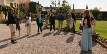 Guests aboard La Bella Vita luxury cruise visit the Bagnoli Wine Estate on a hand-picked excursion