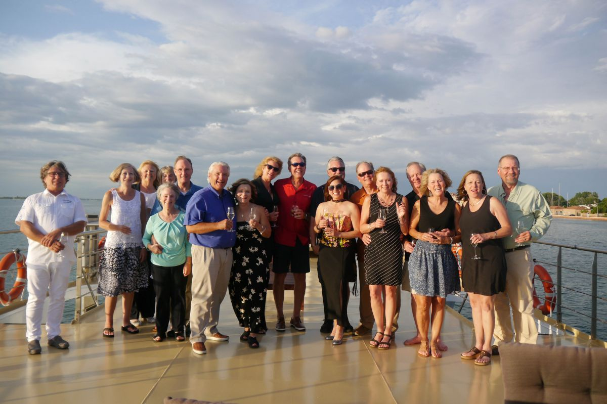 La Bella Vita guests, who spent a week exploring Venice to Mantua with European Waterways