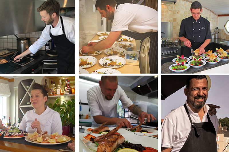 Meet the European Waterways Barge Chefs of 2020