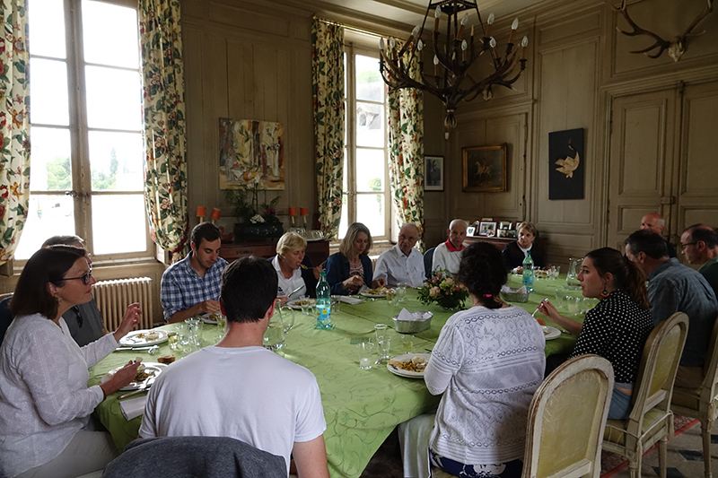 Enjoy a delicious lunch with Baroness Les Ricey-Bas