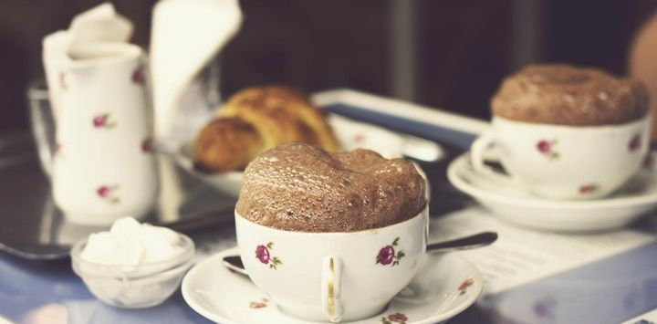 Enjoy this easy recipe for a French Chocolate Mousse, courtesy of our barge chefs