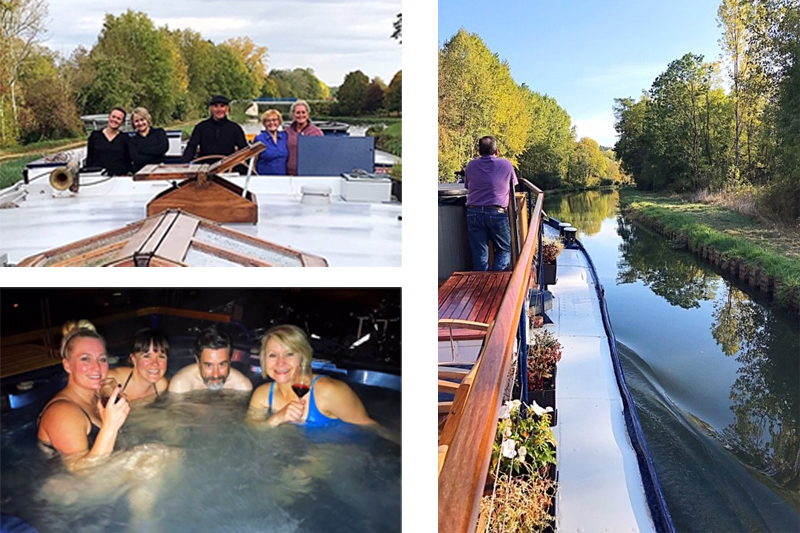 Cruise the Burgundy canal aboard L'Art de Vivre with European Waterways