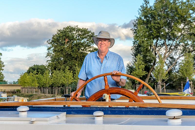 Derek Banks, Managing Director of European Waterways