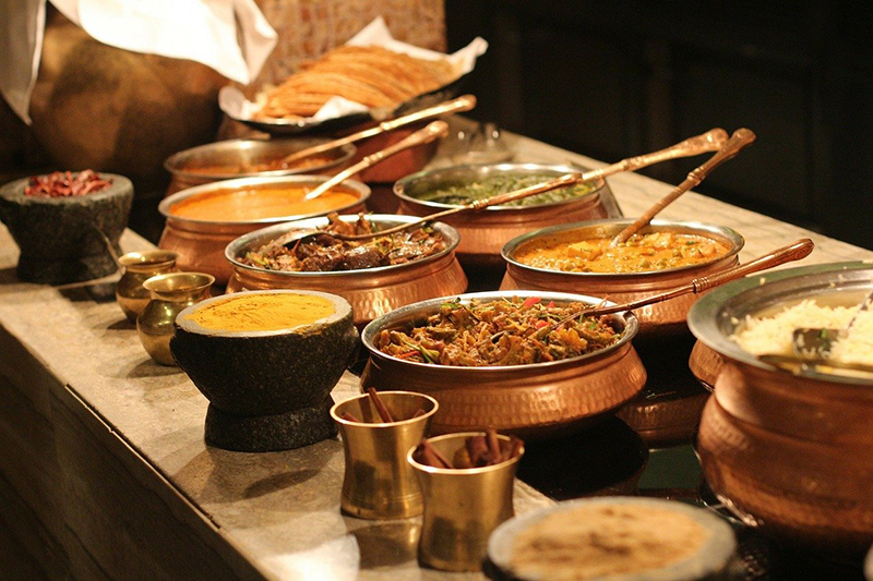 The flavours of India inspire chef Mike Crowson