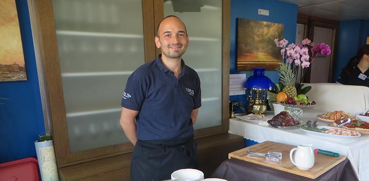 La Bella Vita chef Andrea Chin