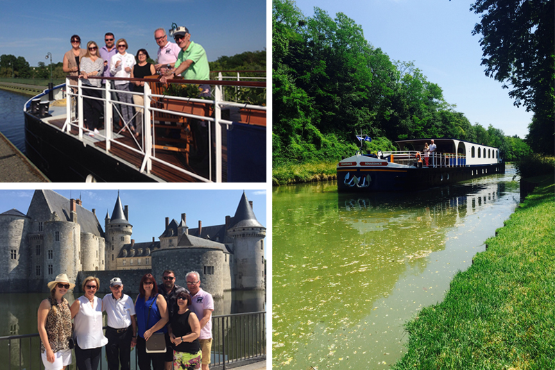 Alison and her family chartered flagship barfe, Renaissance as she cruised Western Burgundy