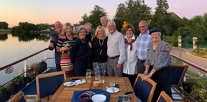 Make friends for life on our luxury barge cruises