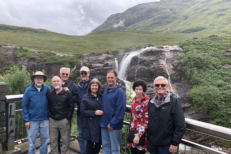 Peter Rudy and his companions cruised the Scottish Highlands to Glen Coe, aboard the Scottish Highlander
