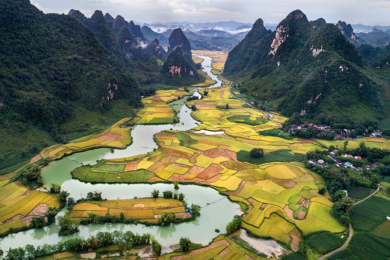 Vietna, is a country that is one of Chef Sylvain Moretto's favourite cities