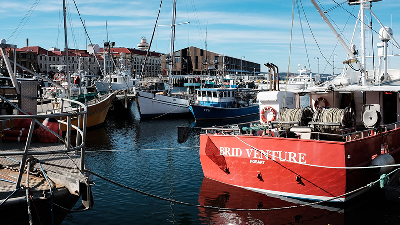 Hobart, Tasmania is Anjodi Chef Dave Lawrence's hometown.