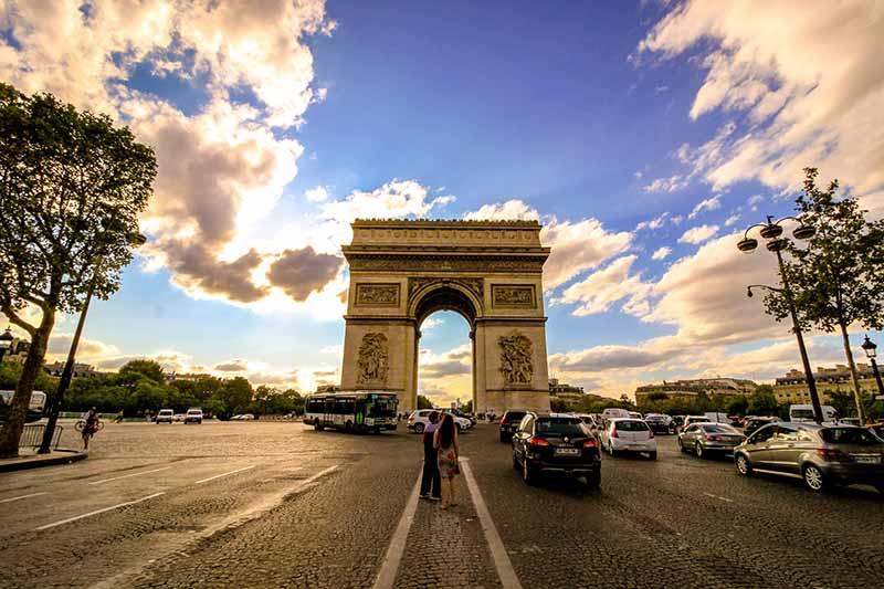 Paris' Champs Elysees