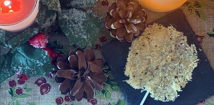 French Gruyère de Comté and Poppy Seed Lollipops