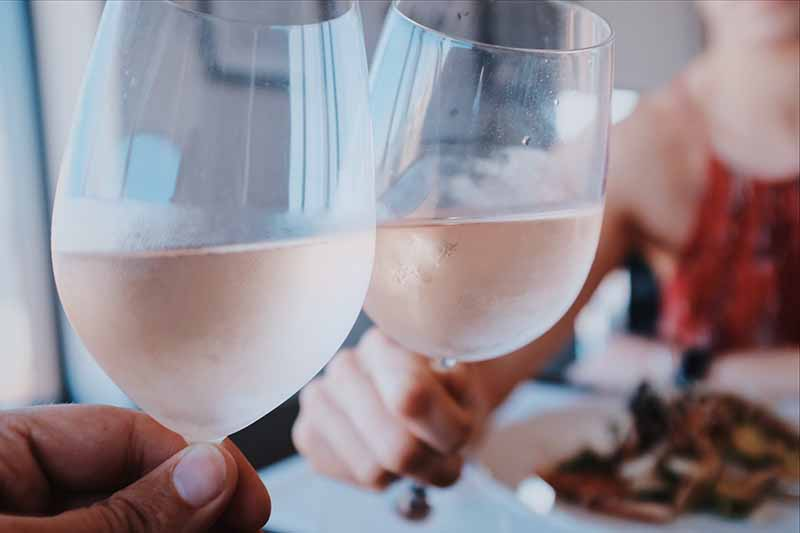 Rose wine from Marseille