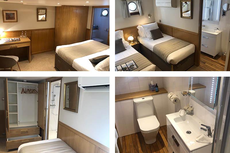 2021 barge refurbishments - L'Impressionniste