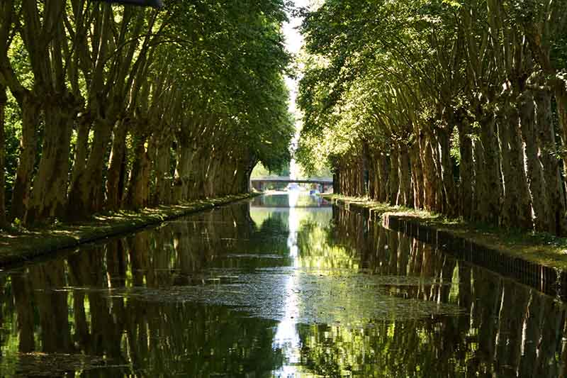 Canal in Alsace and Lorraine
