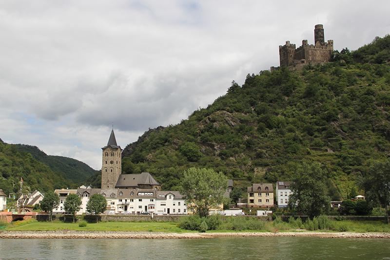 The Rhone-Rhine Canal, Alsace and Lorraine