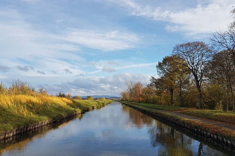 The Sarre Canal, Alsace and Lorraine