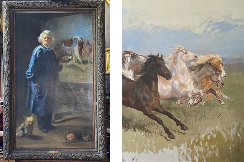 Rosa Bonheur paintings