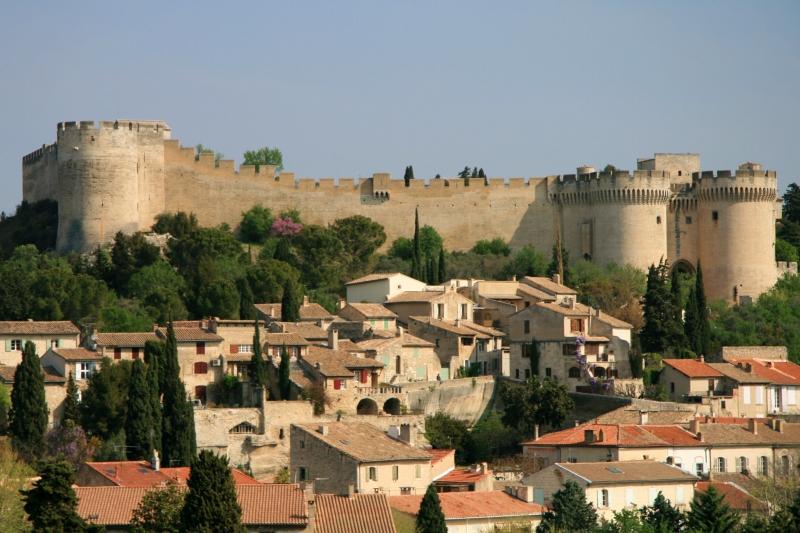 Fort Saint-André stands atop Mount Andaon overlooking Villeneuve-lès-Avignon
