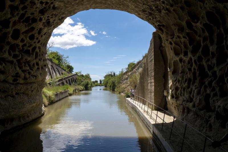 Canal du Midi - Malpas Tunnel