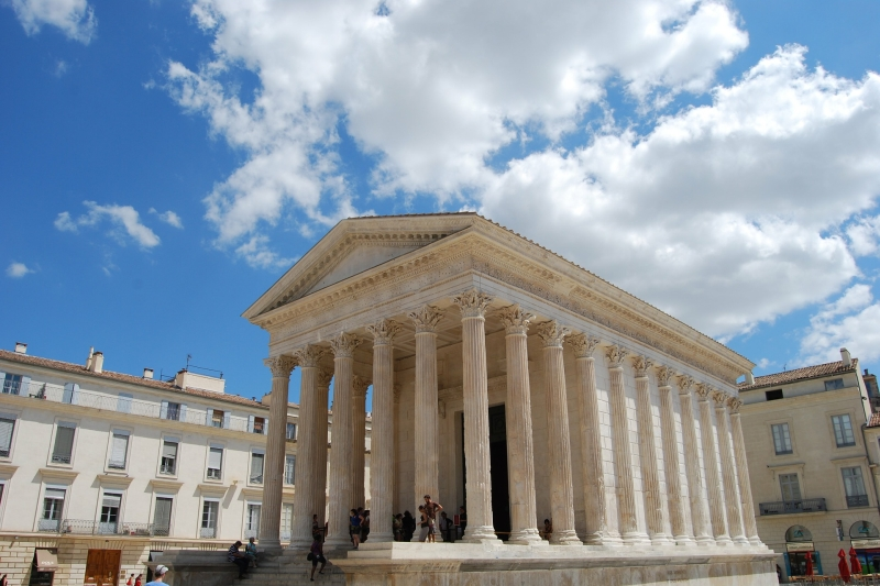Nîmes is known as being the most Roman city outside of Italy