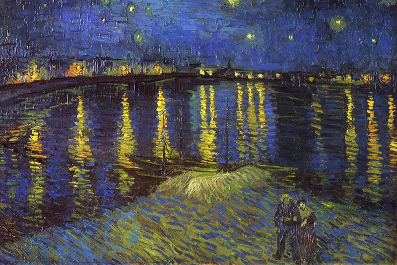 The Post-Impressionist painter Vincent Van Gogh lived in Arles during the last two years of his life