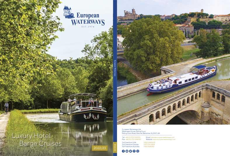 2022 european waterways brochure cover