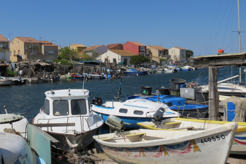Sete Fishing harbour near the Etang de Thau