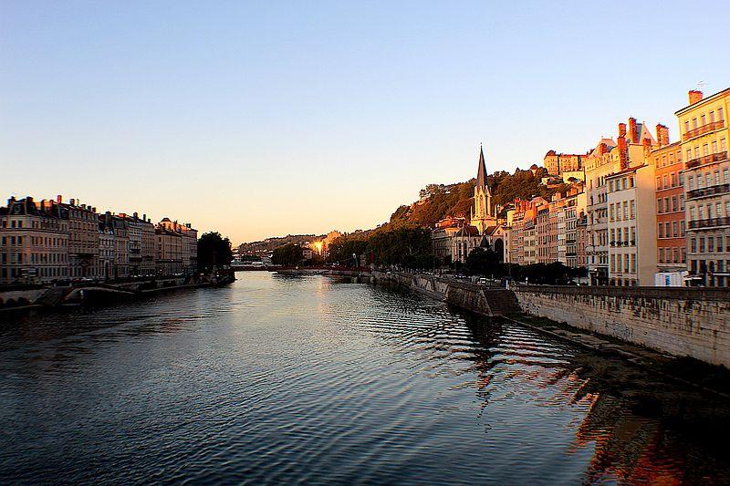 The River Saône