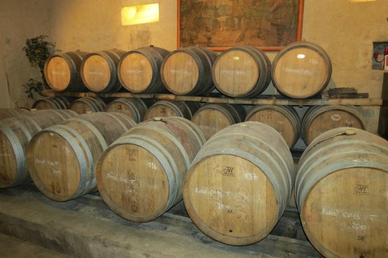 Languedoc Wine Barrels
